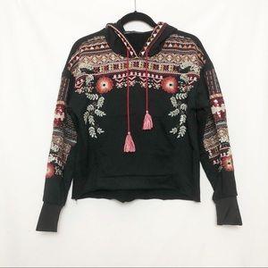 Zara BBWM Woman Embroidered Hoodie